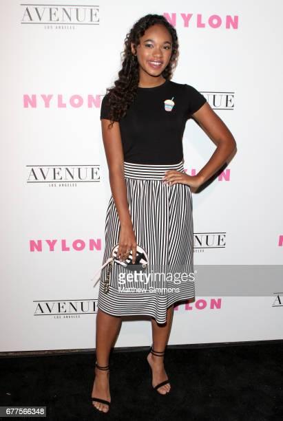 Actor Chandler Kinney attends NYLON's Annual Young Hollywood May Issue Event at Avenue on May 2 2017 in Los Angeles California
