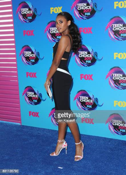 Actor Chandler Kinney attends the Teen Choice Awards 2017 at Galen Center on August 13 2017 in Los Angeles California