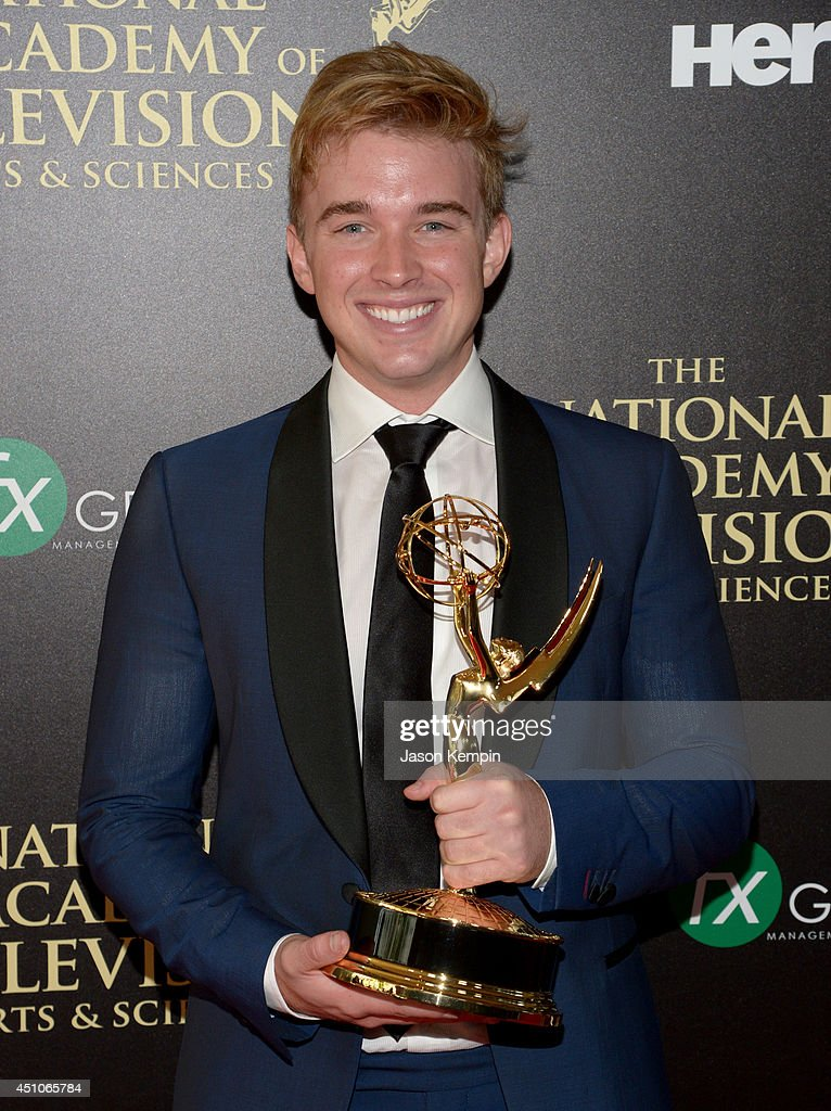 The 41st Annual Daytime Emmy Awards - Press Room : News Photo