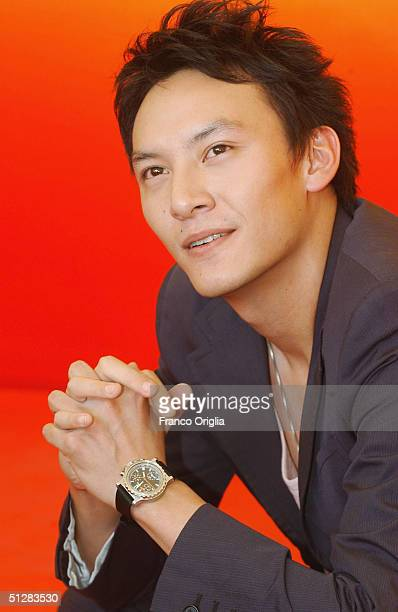 Actor Chang Chen attends the 'Eros' photocall at the 61st Venice Film Festival on September 10 2004 in Venice Italy
