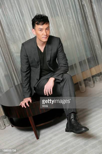 Actor Chang Chen attends 'The Last Supper' press conference at Park Lane Hotel on December 19 2012 in Hong Kong Hong Kong