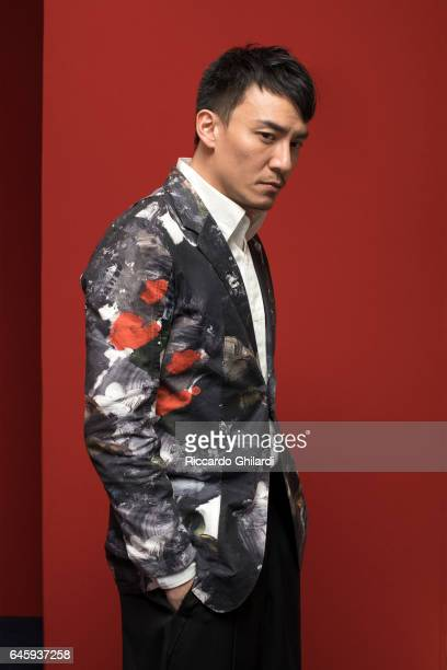 Actor Chang Chen is photographed for Self Assignment on February 11 2017 in Berlin Germany