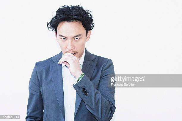 Actor Chang Chen is photographed on May 22 2015 in Cannes France