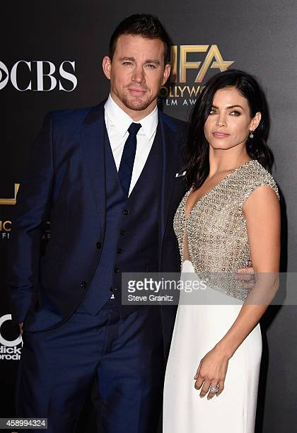 Actor Channing Tatum and actress Jenna Dewan Tatum attend the 18th Annual Hollywood Film Awards at The Palladium on November 14 2014 in Hollywood...