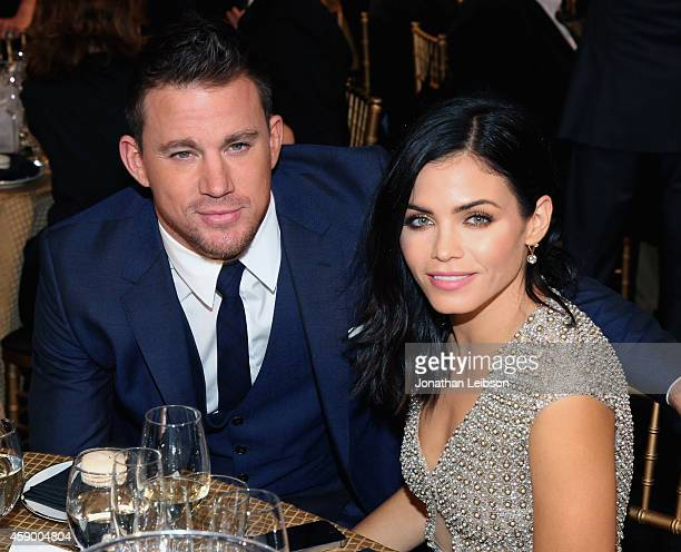 Actor Channing Tatum and actress Jenna Dewan Tatum attend The 18th Annual Hollywood Film Awards at The Palladium on November 14, 2014 in Hollywood,...