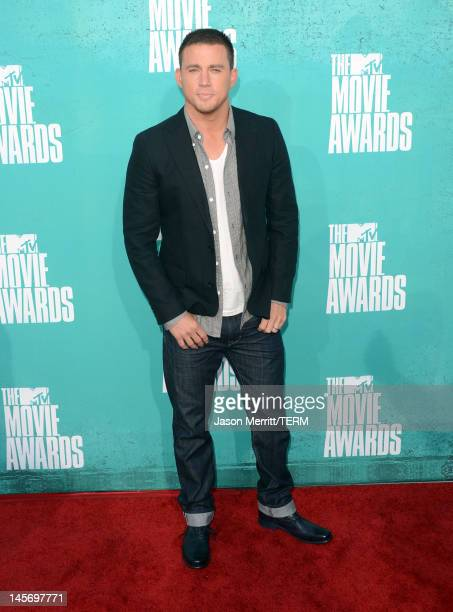 Actor Channing Tatum arrives at the 2012 MTV Movie Awards held at Gibson Amphitheatre on June 3 2012 in Universal City California