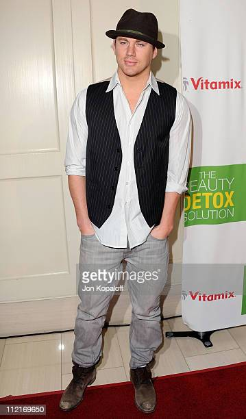 Actor Channing Tatum arrives at the Kimberly Snyder Book Launch Party For 'The Beauty Detox Solution' at The London Hotel on April 13 2011 in West...