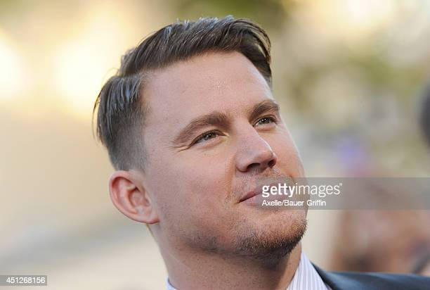 Actor Channing Tatum arrives at the Los Angeles Premiere '22 Jump Street' at Regency Village Theatre on June 10 2014 in Westwood California