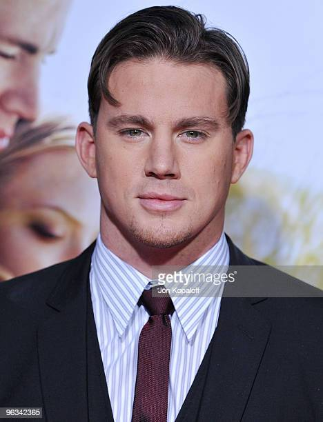 Actor Channing Tatum arrives at the Los Angeles Premiere Dear John at Grauman's Chinese Theatre on February 1 2010 in Hollywood California