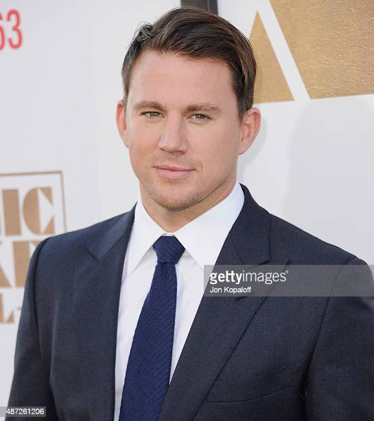 Actor Channing Tatum arrives at the Los Angeles Premiere 'Magic Mike XXL' at TCL Chinese Theatre IMAX on June 25 2015 in Hollywood California