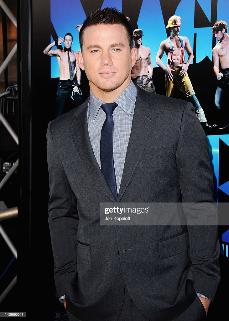 Actor Channing Tatum arrives at the 'Magic Mike' Closing Night Premiere at the 2012 Los Angeles Film Festival at Regal Cinemas L.A. Live on June 24, 2012 in Los Angeles, California.