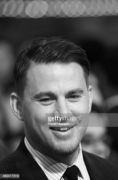Actor Channing Tatum arrives at the Premiere Of Columbia Pictures' 22 Jump Street at Regency Village Theatre on June 10 2014 in Westwood California