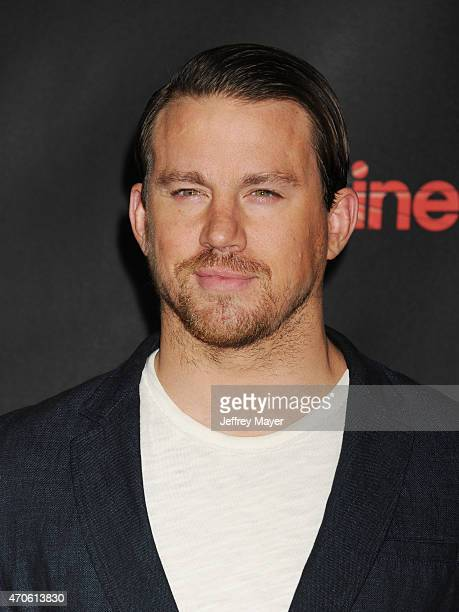 Actor Channing Tatum arrives at Warner Bros Pictures Invites You to The Big Picture at The Colosseum at Caesars Palace during CinemaCon the official...
