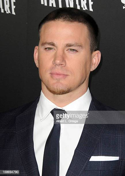 """Actor Channing Tatum arrives for Relativity Media's """"Haywire"""" Los Angeles Premiere hosted by Playboy at the DGA Theatre on January 5, 2012 in West..."""