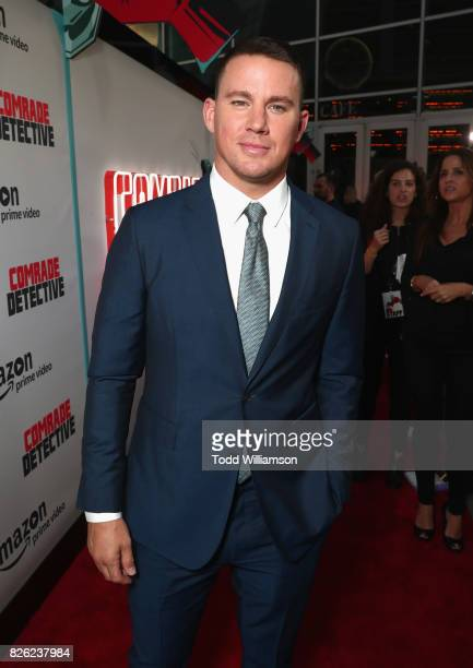 """Actor Channing Tatum attends Amazon Prime Video Premiere Of Original Comedy Series """"Comrade Detective"""" In Los Angeles on August 3, 2017 in Los..."""
