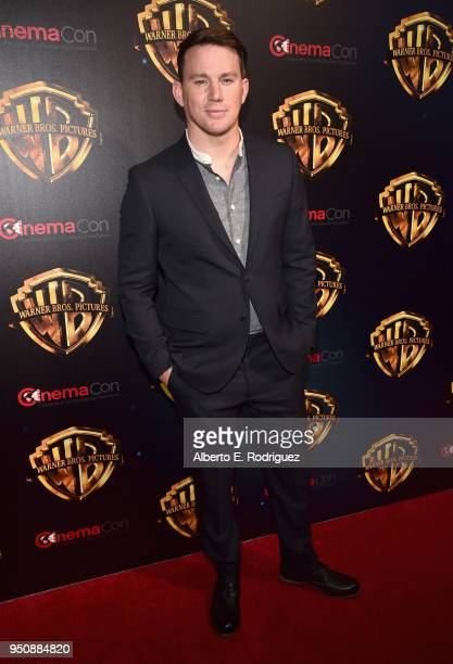 Actor Channing Tatum attends CinemaCon 2018 Warner Bros Pictures Invites You to The Big Picture an Exclusive Presentation of our Upcoming Slate at...