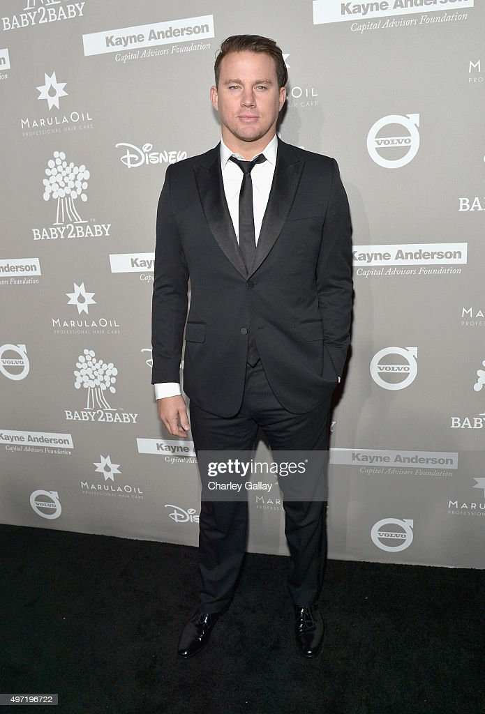 Actor Channing Tatum attends the 2015 Baby2Baby Gala presented by MarulaOil & Kayne Capital Advisors Foundation honoring Kerry Washington at 3LABS on November 14, 2015 in Culver City, California.