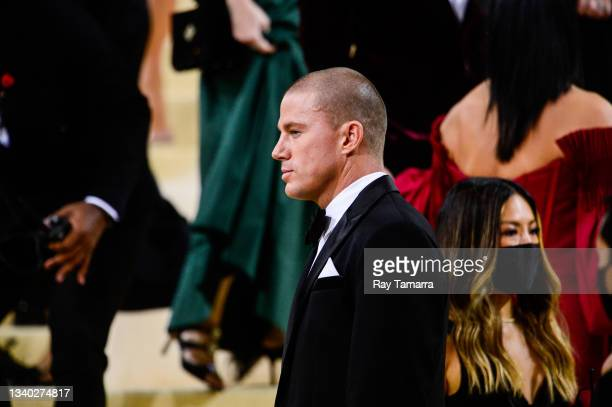 Actor Channing Tatum attends the 2021 Met Gala Celebrating In America: A Lexicon Of Fashion at the Metropolitan Museum Of Art on September 13, 2021...