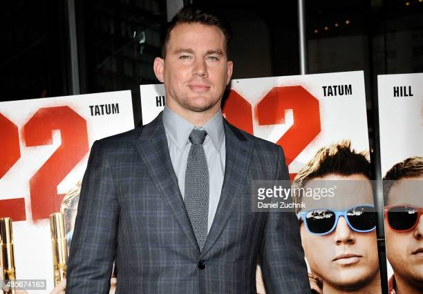 Actor Channing Tatum attends the 22 Jump Street premiere at AMC Lincoln Square Theater on June 4 2014 in New York City