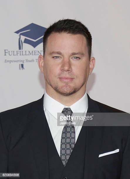 Actor Channing Tatum attends the 22nd Fulfillment Fund Stars Benefit Gala Arrivals at The Globe Theatre at Universal Studios on November 2 2016 in...