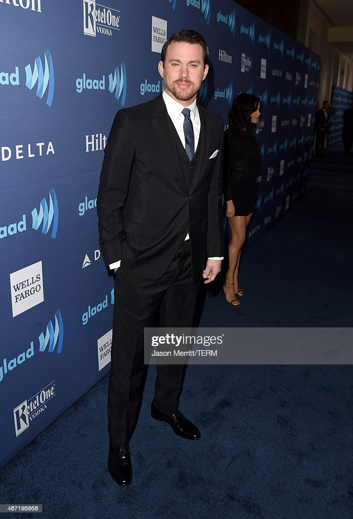 Actor Channing Tatum attends the 26th Annual GLAAD Media Awards at The Beverly Hilton Hotel on March 21, 2015 in Beverly Hills, California.