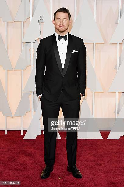Actor Channing Tatum attends the 87th Annual Academy Awards at Hollywood Highland Center on February 22 2015 in Hollywood California