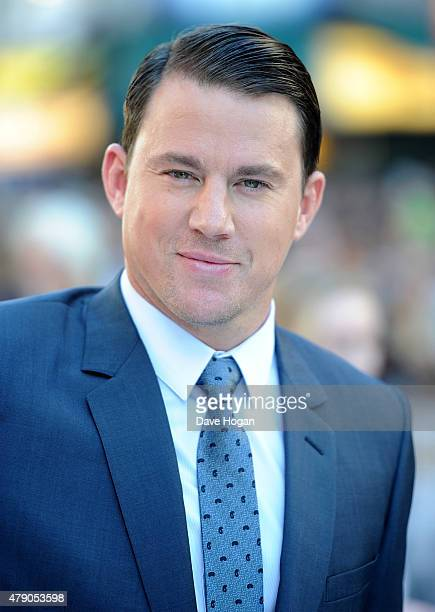 Actor Channing Tatum attends the European Premiere of 'Magic Mike XXL' at Vue West End on June 30 2015 in London England