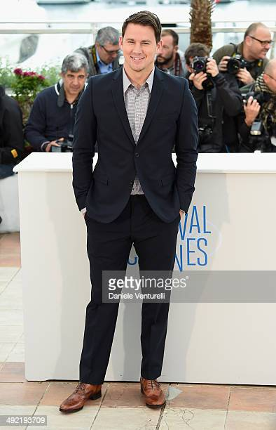 Actor Channing Tatum attends the 'Foxcatcher' photocall at the 67th Annual Cannes Film Festival on May 19 2014 in Cannes France