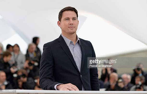 Actor Channing Tatum attends the Foxcatcher photocall during the 67th Annual Cannes Film Festival on May 19 2014 in Cannes France