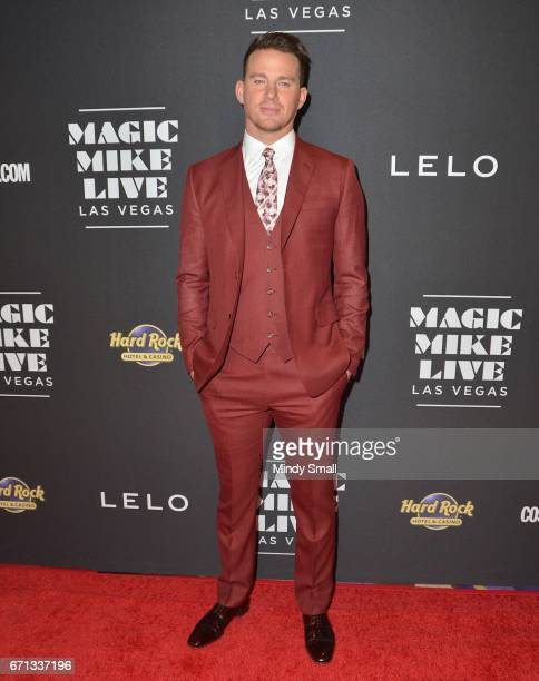 Actor Channing Tatum attends the grand opening of 'Magic Mike Live Las Vegas' at the Hard Rock Hotel Casino on April 21 2017 in Las Vegas Nevada