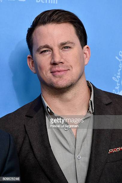 Actor Channing Tatum attends the 'Hail Caesar' photo call during the 66th Berlinale International Film Festival Berlin at Grand Hyatt Hotel on...