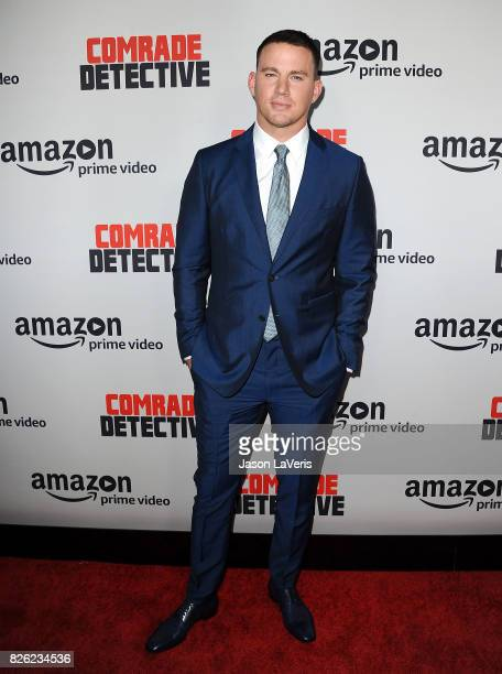 """Actor Channing Tatum attends the premiere of """"Comrade Detective"""" at ArcLight Hollywood on August 3, 2017 in Hollywood, California."""