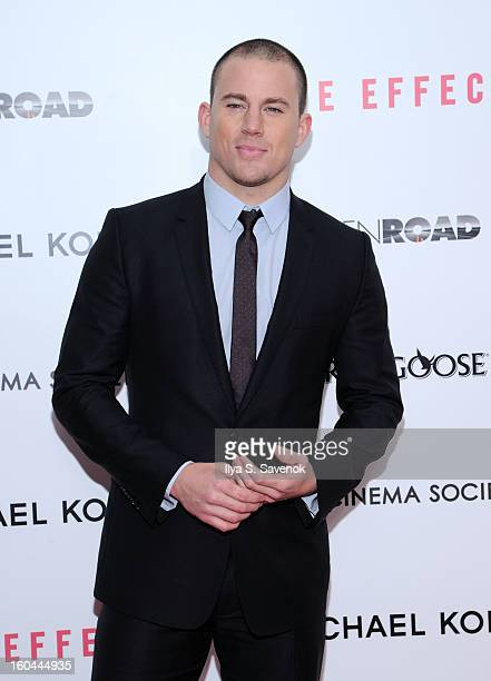 Actor Channing Tatum attends the premiere of Side Effects hosted by Open Road with The Cinema Society and Michael Kors at AMC Lincoln Square Theater...