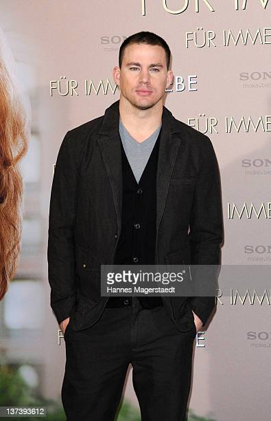 Actor Channing Tatum attends the 'The Vow' Germany Photocall at the Hotel Bayerischer Hof on January 20 2012 in Munich Germany