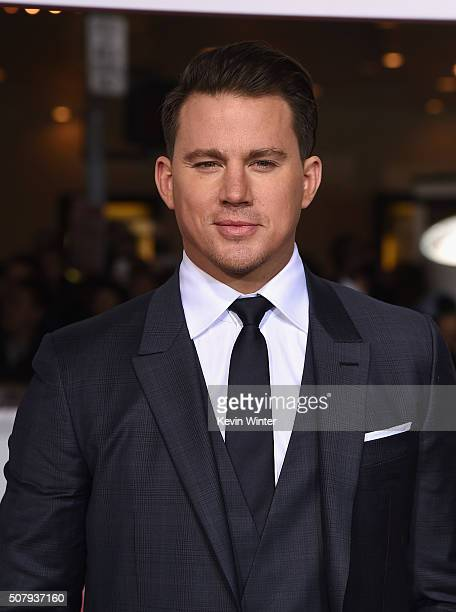 Actor Channing Tatum attends Universal Pictures' Hail Caesar premiere at Regency Village Theatre on February 1 2016 in Westwood California