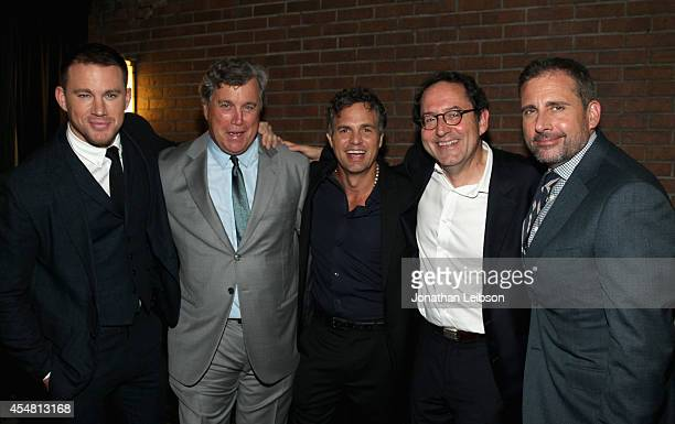 Actor Channing Tatum CoPresident of Sony Pictures Classics Tom Bernard actor Mark Ruffalo CoPresident of Sony Pictures Classics Michael Barker and...