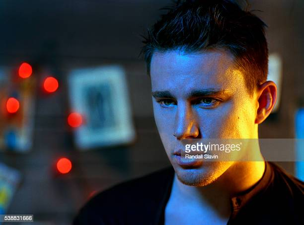 Actor Channing Tatum is photographed for Entertainment Weekly Magazine on January 5 2007 in Los Angeles California