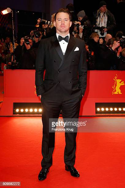 Actor Channing Tatum the 'Hail Caesar' premiere during the 66th Berlinale International Film Festival Berlin at Berlinale Palace on February 11 2016...
