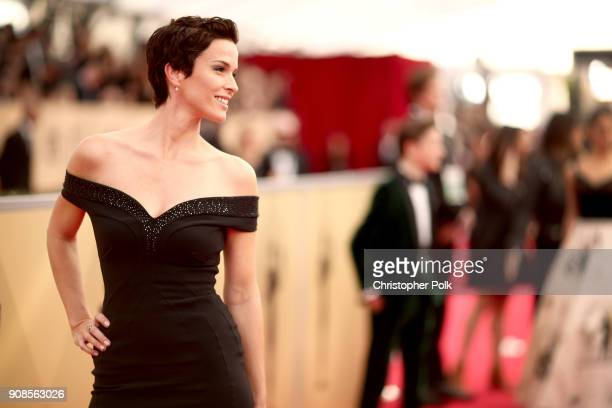 Actor Chantal Cousineau attends the 24th Annual Screen Actors Guild Awards at The Shrine Auditorium on January 21 2018 in Los Angeles California...