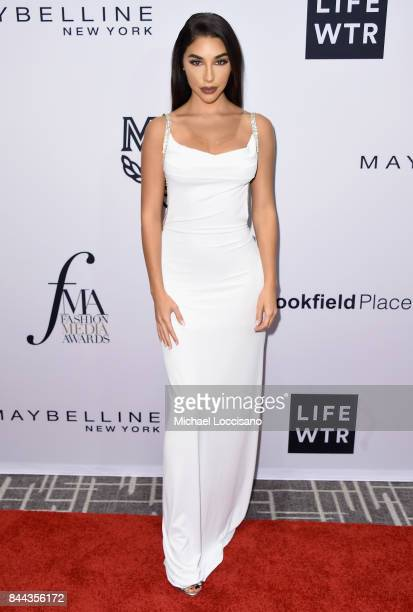 Actor Chantel Jeffries attends the Daily Front Row's Fashion Media Awards at Four Seasons Hotel New York Downtown on September 8 2017 in New York City