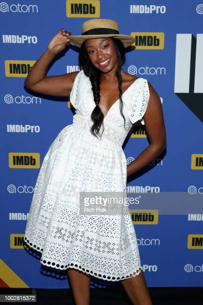 Actor Chantel Riley attends the #IMDboat At San Diego ComicCon 2018 Day Two at The IMDb Yacht on July 20 2018 in San Diego California