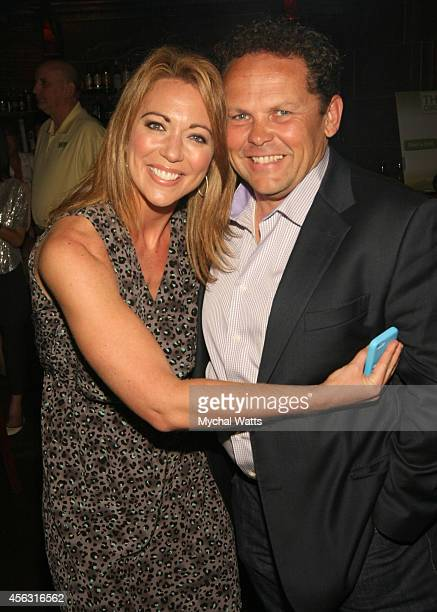 Actor Chappy Chapman and CNN Correspondent Brooke Baldwin attends 2014 Dance This Way>> at The Cutting Room on September 28 2014 in New York City