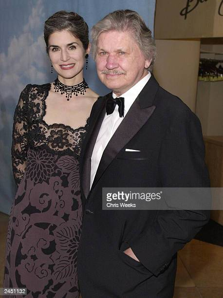 Actor Charles Bronson and wife Kim Weeks arrive at The Carousel of Hope Ball benefiting The Barbara Davis Center for Childhood Diabetes at the...