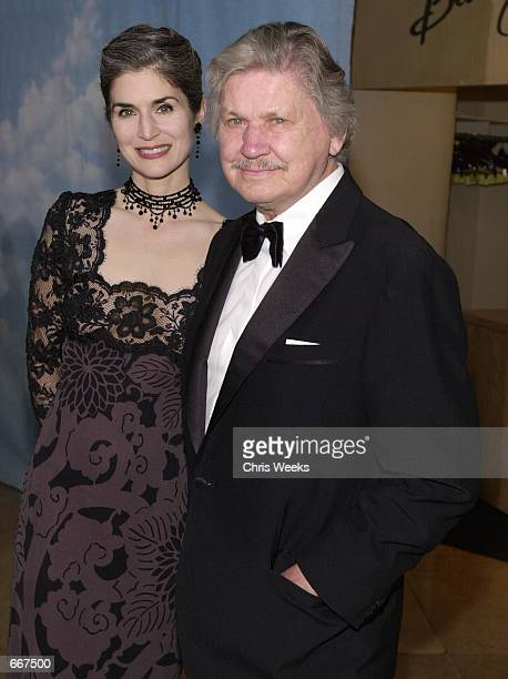 Actor Charles Bronson and wife Kim Weeks arrive at The Carousel of Hope Ball benefiting The Barbara Davis Center for Childhood Diabetes October 28,...