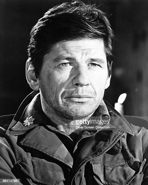Actor Charles Bronson as Joseph Wladislaw in the film 'The Dirty Dozen' 1967