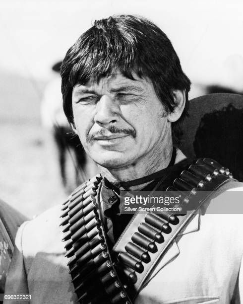 Actor Charles Bronson as Rodolfo Fierro in the western 'Villa Rides' 1968