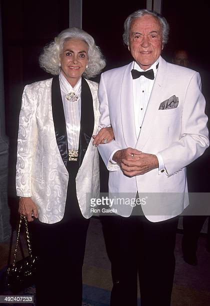Actor Charles Buddy Rogers and wife Beverly Ricondo attend the Westin Mission Hills Resort Celebrity Sports Invitational Eisenhower Medical Center's...
