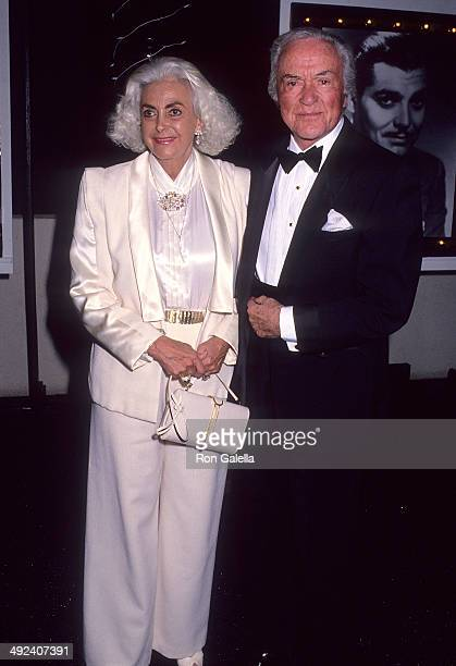 Actor Charles Buddy Rogers and wife Beverly Ricondo attends the Fourth Annual Frank Sinatra Celebrity Golf Tournament to Benefit the Desert Hospital...