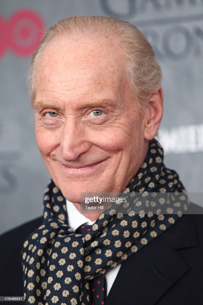 Actor Charles Dance attends the 'Game Of Thrones' Season 4 premiere at Avery Fisher Hall, Lincoln Center on March 18, 2014 in New York City.