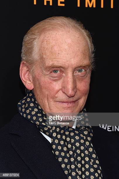 Actor Charles Dance attends the The Imitation Game New York Premiere at Ziegfeld Theater on November 17 2014 in New York City
